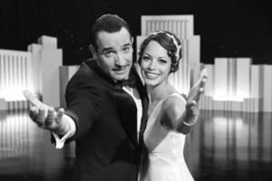 "Jean Dujardin stars as George Valentin and Berenice Bejo as Peppy Miller in Michel Hazanavicius' film ""The Artist."" Photo PROVIDED BY The Weinstein Company"
