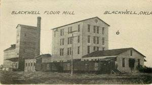 Photo - This photo from early 1900s shows the Blackwell Flour Mill as it was then. (News On 6)