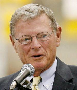 Photo - Sen. Jim Inhofe <strong> - Oklahoman File Photo</strong>