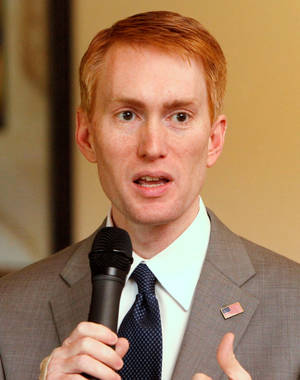 Photo - Rep. James Lankford <strong> - Oklahoman File Photo</strong>