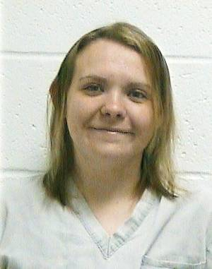 photo - Samantha Deal shown in prison in April
