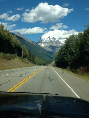 Photo - Staring out your windshield never gets boring on the fabled Alaska Highway. PHOTO PROVIDED