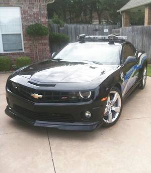photo - The Oklahoma County sheriff department&#039;s Chevy Camaro, outfitted with a license plate scanner, is the subject of a photo posted on Edmond dentist Dr. Eli Jarjoura&#039;s Facebook page. &lt;strong&gt;Facebook - Facebook&lt;/strong&gt;