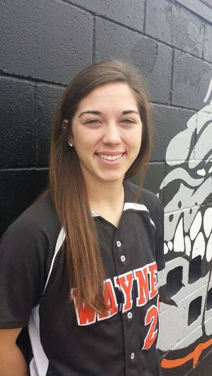 Photo - Wayne infielder Caleigh Clifton was named to The Oklahoman's Little All-City Softball First Team. Photo provided <strong></strong>