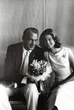 Photo - Gary Cooper with his daughter, Maria. PHOTO PROVIDED <strong></strong>
