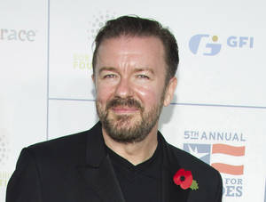 Photo - Ricky Gervais. <strong>Charles Sykes</strong>