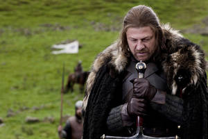 "Photo -   In this publicity image released by HBO, Sean Bean portrays Eddard Stark in a scene from the HBO series, ""Game of Thrones."" The 63rd Emmy Award nomination announcements will be made on Thursday, July 14, 2011. (AP Photo/HBO, Nick Briggs)"