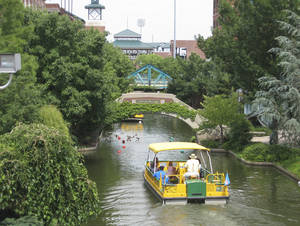 Photo - The Bricktown Canal, once considered one of the least popular of the nine original Metropolitan Area Projects, has become a popular destination and an iconic representation of Oklahoma City. Photo by Steve Lackmeyer, The Oklahoman