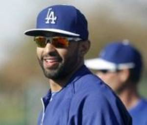 Photo - Midwest City native Matt Kemp recently made a disabled fan's day. Photo provided.
