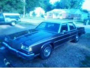 Photo - Oklahoma County sheriff's investigators are looking for this brown 1984 Buick LeSabre with Oklahoma license plate 889-GKO.