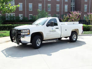 Photo - Chesapeake Energy Corp. has 11 vehicles in service that are running on CNG, and it hopes to have 150 out of its fleet of 350 converted by this time next year. PHOTO PROVIDED BY CHESAPEAKE ENERGY CORP.