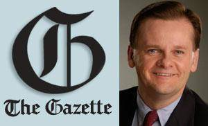 Photo - A veteran reporter and editor from The Oklahoman, Joe Hight, will be named as The Gazette's editor after the acquisition. Hight has 30 years of journalism experience. He also concentrated on the online development of NewsOK.com.