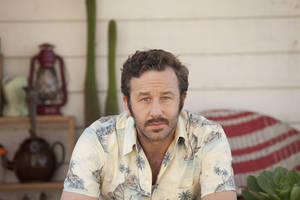 "Photo - This film publicity image released by The Weinstein Company shows, Chris O'Dowd as Dave, from ""The Sapphires."" (AP Photo/The Weinstein Company, Lisa Tomasetti)"