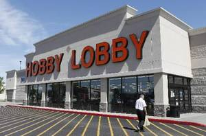 Photo - Front of Hobby Lobby, 6104 W Reno Avenue, in Oklahoma City Wednesday, May 22, 2013. Photo by Paul B. Southerland