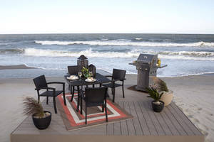Photo - Today's patio furniture can be as comfortable and stylish as indoor options, and similarly, it needs to be periodically cleaned. ARA CONTENT