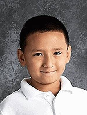 Photo - Adrian Roberto Avalos, 7, was found dead after a house fire late Sunday night April 28, 2013. Police have ruled it a homicideHe was in the first grade at Coolidge Elementary, said Kathleen Kennedy, a spokeswoman for Oklahoma City Public Schools.
