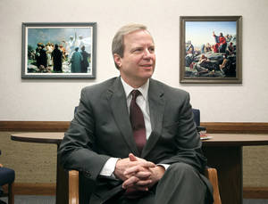 photo - Douglas L. Talley is the president of the Akron, Ohio Stake of the Church of Jesus Christ of Latter-Day Saints. <strong>PHIL MASTURZO - MCT</strong>