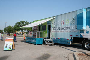 Photo -  The Digital Bookmobile will make a stop in Norman on Wednesday as part of a national tour. PHOTO PROVIDED  <strong>unknown</strong>