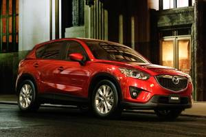 Photo - This undated photo provided by Mazda shows the 2013 Mazda CX-5. (AP Photo/Mazda)