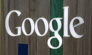 Photo -  The Google logo at a store in Hialeah, Fla. AP Photo  <strong>Alan Diaz -  AP </strong>