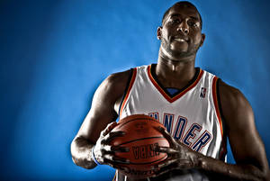 photo - D.J. White's third season with the Thunder appears to be his make-or-break year. Photo by Chris Landsberger, The Oklahoman