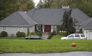 photo -   The home of Jeffrey Giuliano is scene here in New Fairfield, Conn., Friday, Sept. 28, 2012. Giuliano fatally shot a masked teenager in self-defense during what appeared to be an attempted burglary early Thursday morning, then discovered that he had killed his son, state police said. (AP Photo/Jessica Hill)