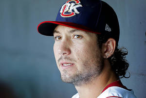 photo - Brett Wallace was promoted from the RedHawks to the Houston Astros on Sunday after the Astros traded third baseman Chris Johnson to Arizona. Photo by Bryan Terry, The Oklahoman