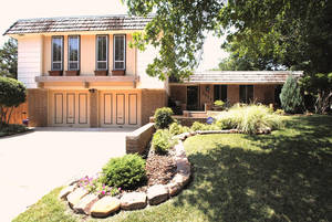 Photo - The Listing of the Week is at 9009 Lansbrook Lane in northwest Oklahoma City. Photo Provided