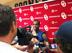 Photo - Justin Brown made a quiet visit to OU a couple weeks ago. He officially became part of the roster last week. Photo provided