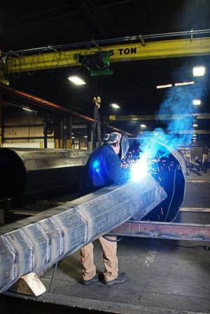 photo - Pelco Structural LLC in Claremore is a leader in manufacturing pole assemblies for the traffic control, utility, lighting and communications industries. &lt;strong&gt; - provided&lt;/strong&gt;