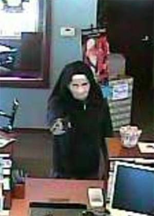 Photo - A man dressed as nun robbed a bank in Yukon on Tuesday morning. On Friday, Kyle Robert Richard, 27, was arrested in connection with the robbery. PHOTO PROVIDED <strong></strong>
