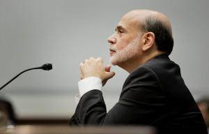 Photo - Federal Reserve Chairman Ben Bernanke in 2012 told Congress that his son would likely graduate from medical school with more than $400,000 in student loans. (Joshua Roberts/Bloomberg News). Image via Washington