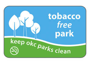 photo - The anti-smoking sign design was unanimously approved by the Oklahoma City Council on Tuesday for use in all public parks. IMAGE Provided