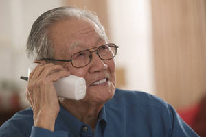 Photo - Answering inbound customer calls for big companies is one potential job for retirees. <strong>Comstock Images</strong>