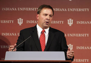 photo - Kevin Wilson is Indiana&#039;s new football coach. AP PHOTO