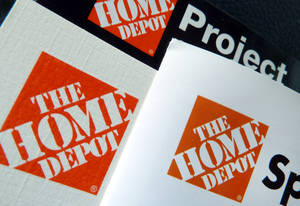 This May 14, 2012 file photo shows brochures at a Home Depot store in Danvers, Mass. The Home Depot Inc. reports quarterly financial results before the market opens on Tuesday, May 21, 2013. (AP Photo/Elise Amendola, File)