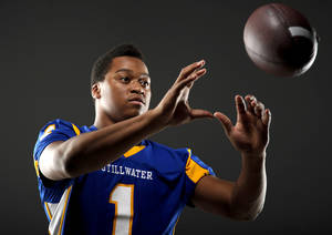 Photo - HIGH SCHOOL FOOTBALL: All-State football player Jesse Vester, of Stillwater, poses for a photo in Oklahoma CIty, Wednesday, Dec. 14, 2011. Photo by Bryan Terry, The Oklahoman