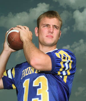 photo - Matt Holliday, Stillwater high school football quarterback