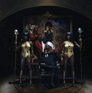 "Photo -   In this CD cover image released by Atlantic Records, the latest release by Santigold, ""Master of my Make-Believe,"" is shown. (AP Photo/Atlantic Records)"