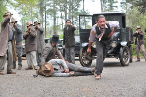 "Photo - Shia LaBeouf, right, in a scene from ""Lawless."" WEINSTEIN COMPANY PHOTO"