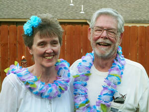 Photo - Patricia and Jerald Johnson, of Oklahoma City, were married July 14, 1962, in Brighton, Colo.