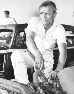 "Photo - Sieste ""Dutch"" ter Steege, a local veteran race car driver, grew up in Holland. From THE OKLAHOMAN ARCHIVES"