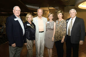 Photo - Dave Bash, Julie Dines, Dick Cain, Dawn Davis, Diane Riggert, James Stapp. Photo by David Faytinger, for The Oklahoman