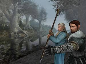 "Photo - A screen shot from ""The Lord of the Rings Online."" Chance Thomas, an Oklahoma City native, composed original music for the game.  Photo provided <strong></strong>"