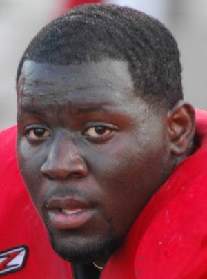 photo - Oklahoma State defensive tackle Calvin Barnett. PHOTO COURTESY NAVARRO SPORTS INFORMATION <strong></strong>