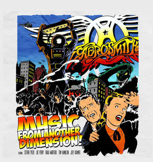 Photo - Music from Another Dimension, First New Aerosmith Album in 11 Years, Coming November 6.  (PRNewsFoto/Columbia Records) ORG XMIT: PRN13
