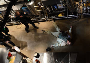"Photo - This image released by AMC shows Bryan Cranston, as Walter White, in the final scene from  ""Breaking Bad.""  The popular series about a chemistry teacher-turned drug dealer ended in September.  (AP Photo/AMC, Ursula Coyote)"