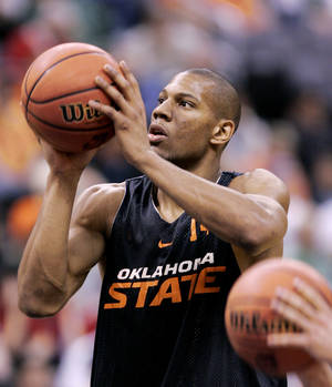 Photo -  Former Oklahoma State University standout Joey Graham and the Cowboys went to the Final Four 10 years ago. Photo by Bryan Terry, The Oklahoman Archives  <strong>BRYAN TERRY -  THE OKLAHOMAN </strong>