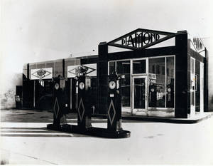 Photo - This gas station was designed by architect Donald McCormick and built in 1930 in Sapulpa. It has since been torn down.  <strong> - PROVIDED BY TULSA FOUNDATION FOR</strong>