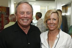 Photo -  David Thompson, Tricia Everest. Photos provided  <strong>STEVE SISNEY -  Oklahoma Medical Research Foundation </strong>